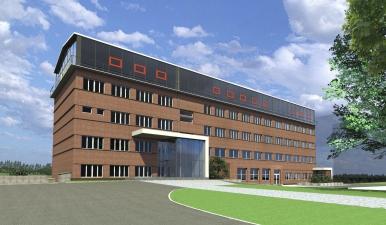 """Modernizacja elewacji budynku biurowego oraz przebudowa dwóch portiernii na terenie obiektu Elektrociepłowni """" Będzin"""" S.A."""