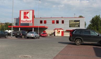 Pawilon handlowy Kaufland