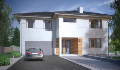 Zespół 5 budynków mieszkalnych jednorodzinnych