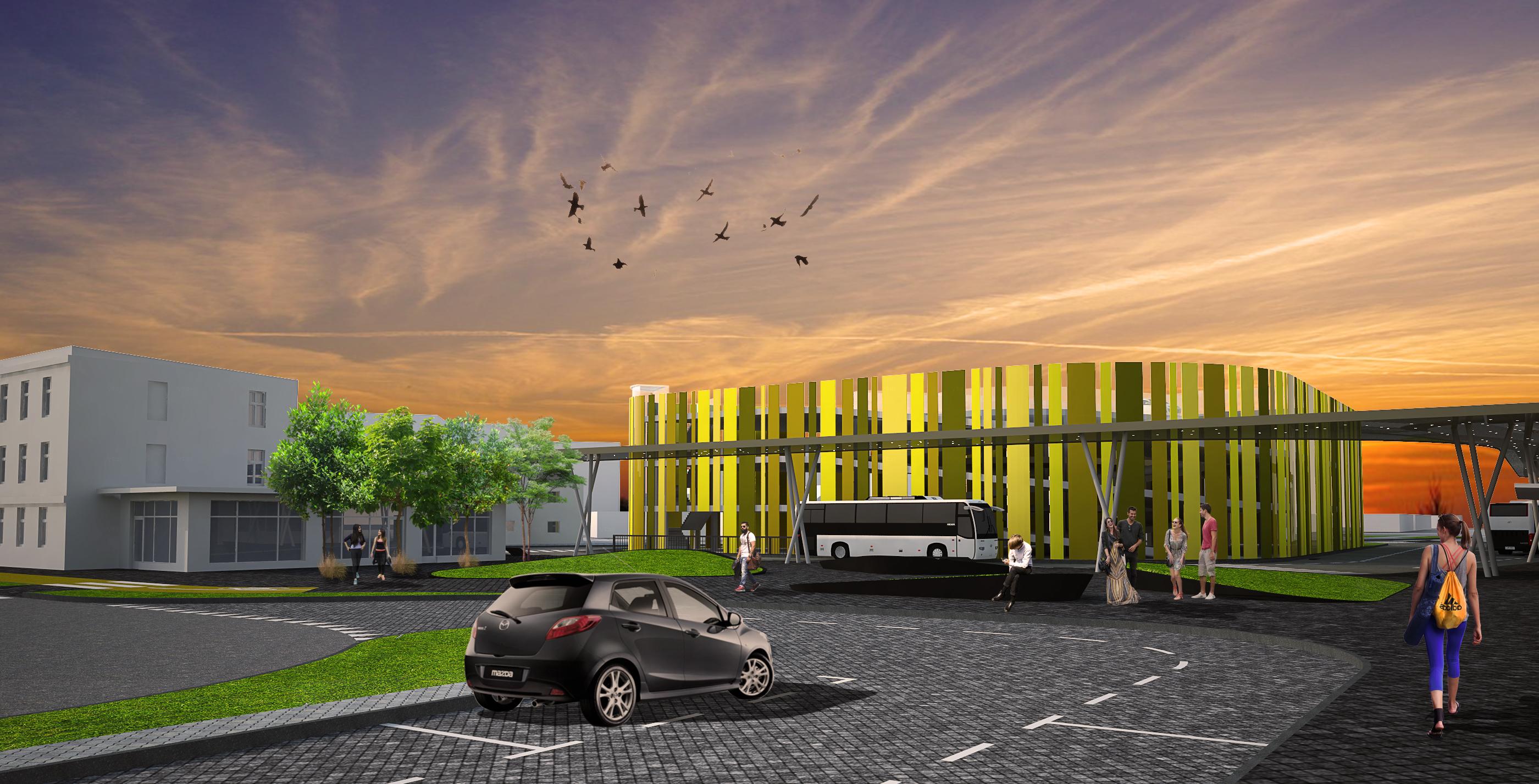 Centrum Przesiadkowe Park&Ride;