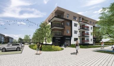 Osiedle mieszkaniowe TBS w Gliwicach