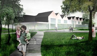 Koncepcja architektoniczno-budowlana zespołu szkół w Skokowej